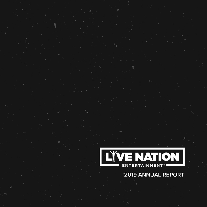 Annual Report for Live Nation Entertainment