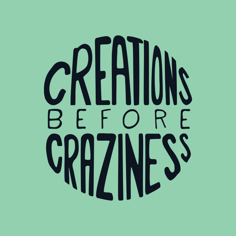 Branding and Website Design for Creations Before Craziness